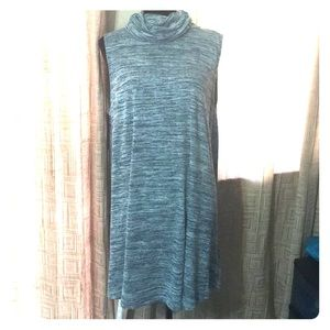 Flowy soft cowl neck Dress/tunic NWT
